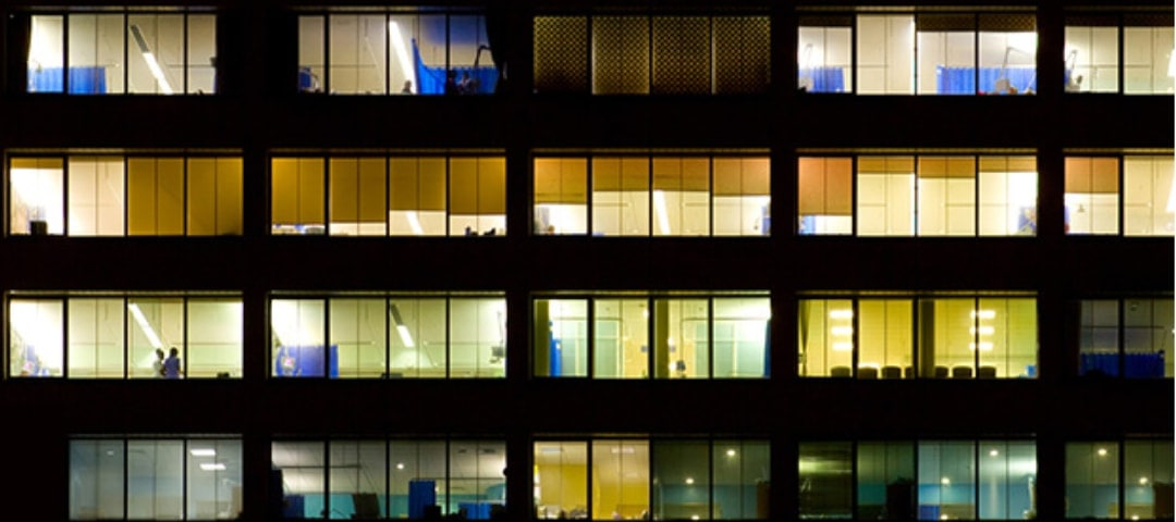 Gesunde Beleuchtung bei Nachtarbeit