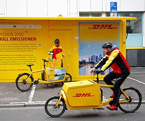 Verschiedene Lasten-Fahrräder