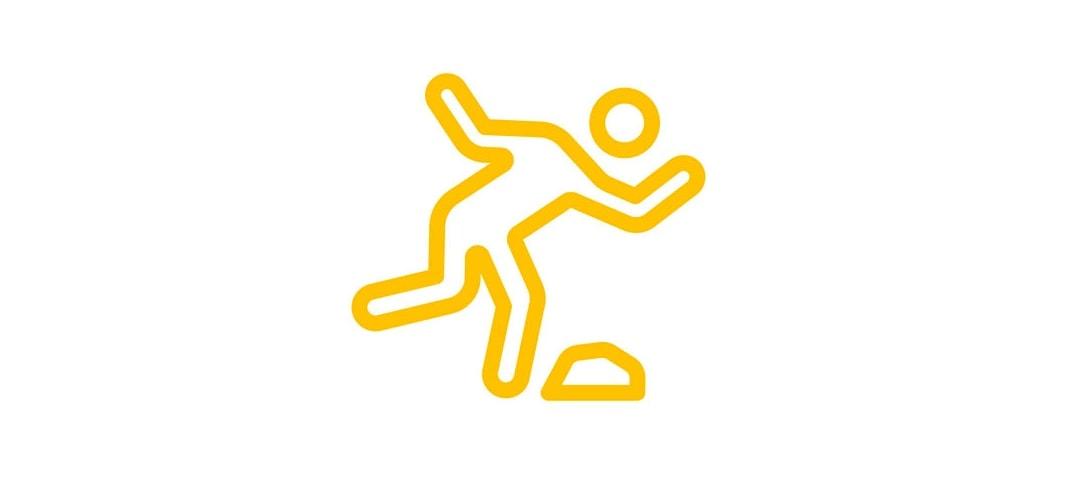 Stolpern, Rutschen, Stürzen – Arbeitsunfälle vermeiden