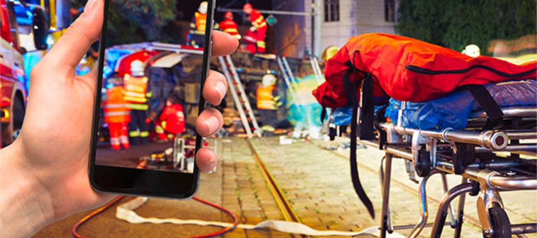 Nicht gaffen: Wie man sich an Unfallorten verhalten sollte