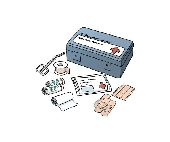 Verbands-Kasten kennen
