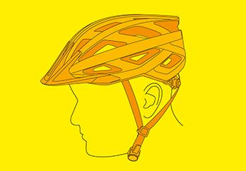 So sitzt der Helm richtig