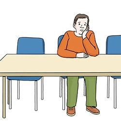 Einsamkeit kann krankmachen