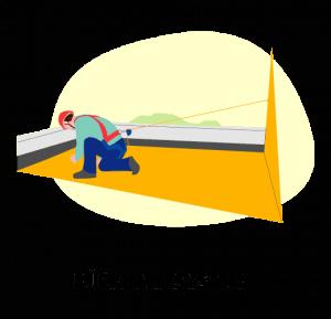 Illustration, die das Rückhaltesystem abbildet.